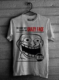 Crazy Face - Grey