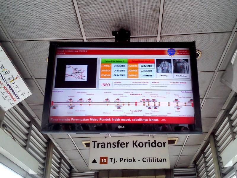 Monitor Informasi Transjakarta