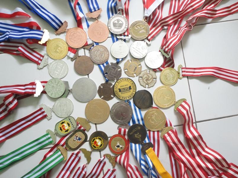 Medali yang pernah saya dapatkan