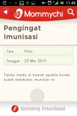 jadwal imunisasi selanjutnya