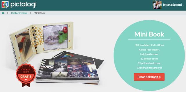 Pictalogi   Informasi Produk Mini Book