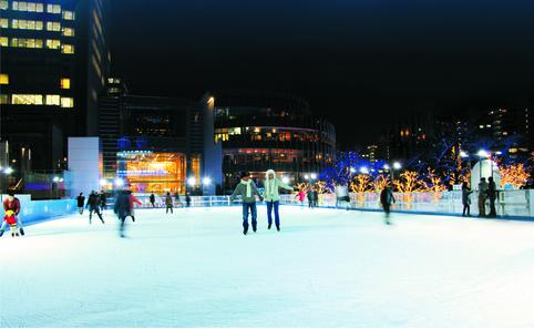 Midtown Tokyo Outdoor Skating Ring
