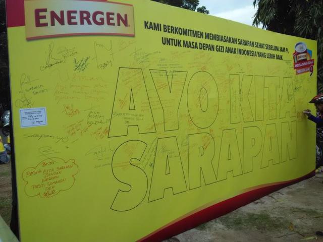 Wall of Fame #SarapanSehatSebelumJam9
