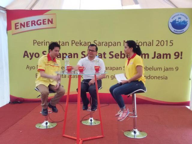 Press Conference - #SarapanSehatSebelumJam9