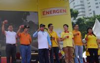 Walikota Jakarta Pusat Mengawali Sarapan Serentak